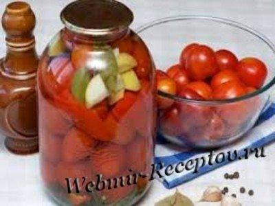 Консервированные помидоры по-домашнему
